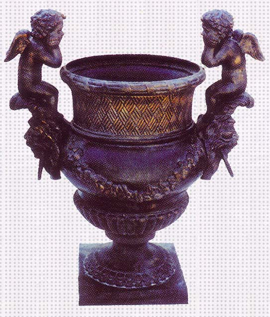 cast iron urns from China