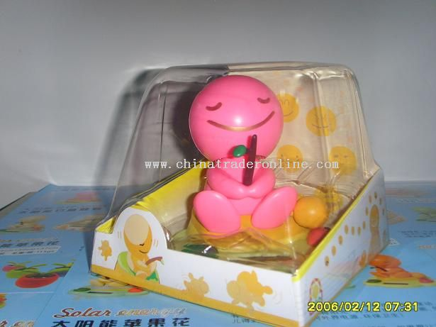 solar energy hugs the colored baby