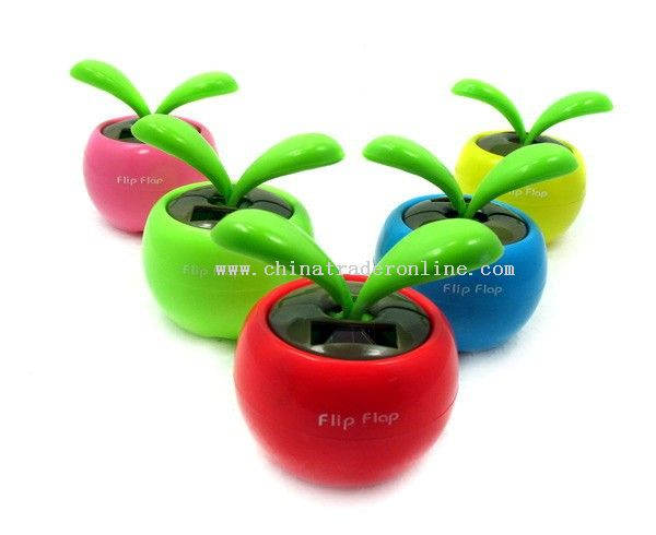 Solar energy apple trough