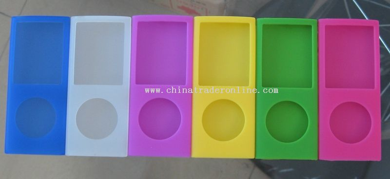 Silicone Skin Case For Ipod nano 4th Gen
