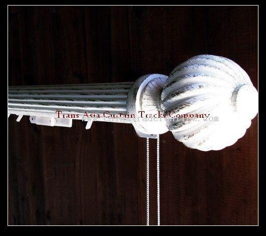 Decorative traverse rods B from China