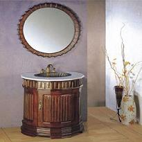 Manmade mirrored cabinet