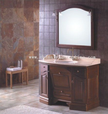 Traditional Vanities,Cabinets with Marble Tops from China