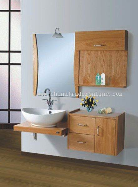 In wall mount bathroom cabinet