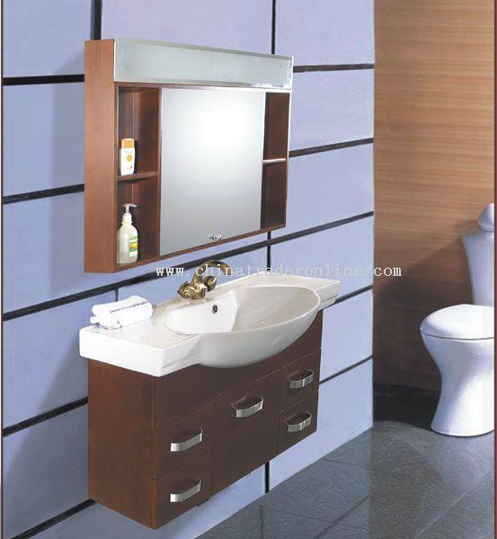 Manmade Contemporary bathroom cabinet