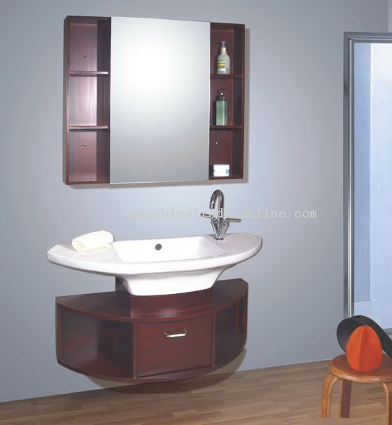 Tranditional bathroom cabinet
