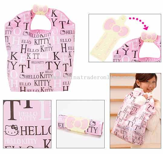 Hello Kitty pink handbag fashion bag