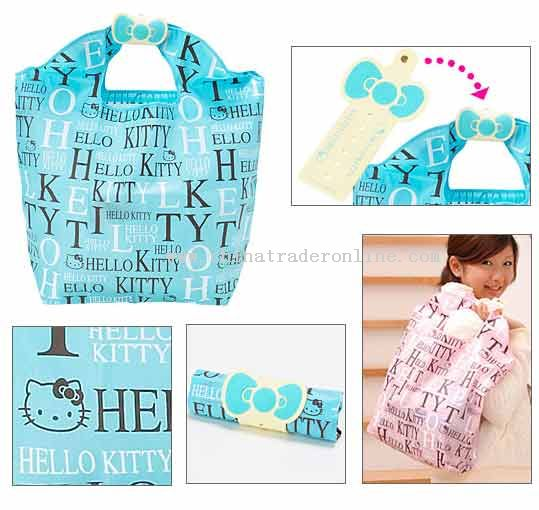 Hello Kitty blue handbag fashion bag