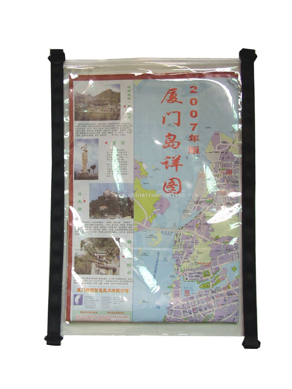 Water-resistant Map Bag With TPU Tarpaulin Exterior