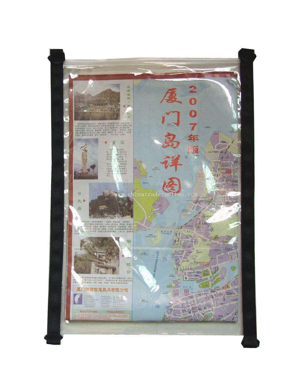 Water-resistant Map Bag With TPU Tarpaulin Exterior