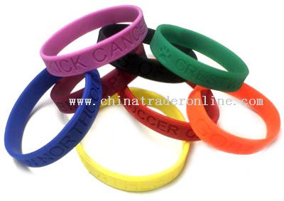 silicone bracelets silicone wristbands