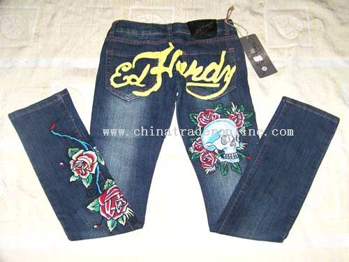Ed Hardy,Evisu,GGG,G-Star,LRG,Red Monkey,RMC,Rock,True Religion jean