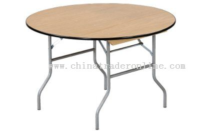 Round Banquet Folding Table,Wooden Banquet Folding Table,Dining Table