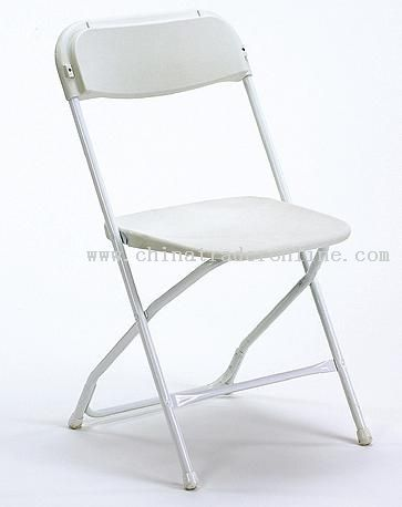 Banquet Plastic White Folding Chair Samsonite From China