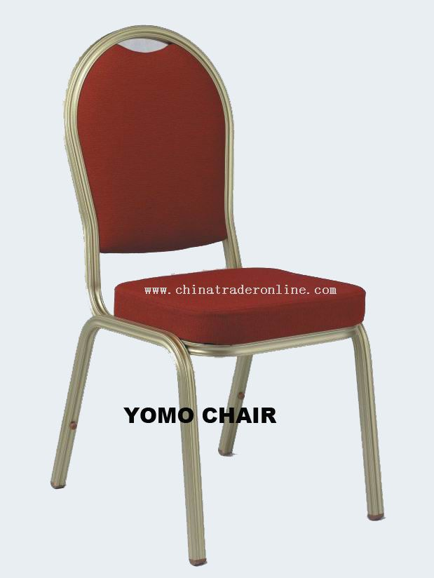 Aluminum Stackable Banquet Chair, Hotel Chair