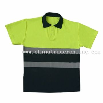 TWO TONE POLO SHIRT 2BAND