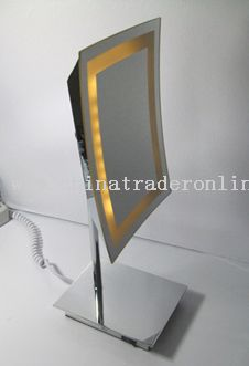 LED light mirror,Desktop LED mirror