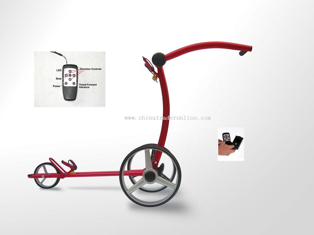 fantastic remote golf trolley