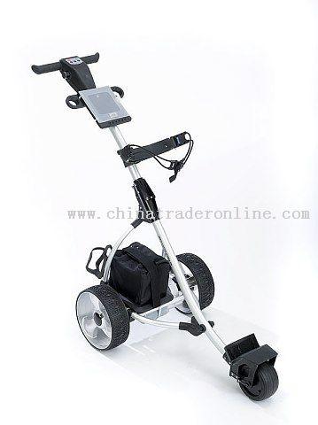 Amazing electrical golf trolley