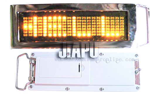 Fasinate LED belt buckls from China