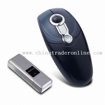 presenter with optical mouse