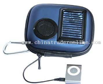 solar speaker bag from China