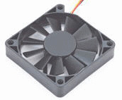 Fans for thermoelectric cooling system