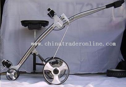 Shark electric golf buggy