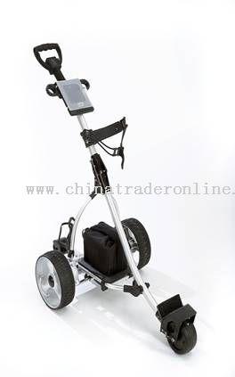 Smooth remote control golf buggy