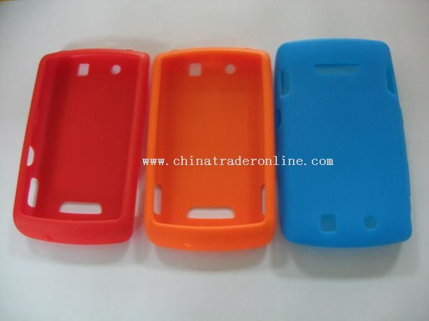 Silicone case for mobiles