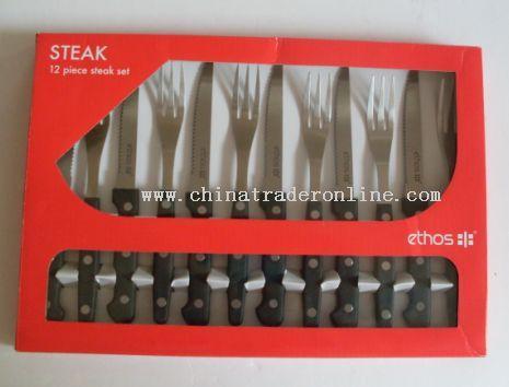 12pcs steak knife set