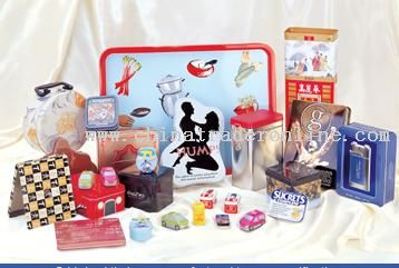 tin box from China