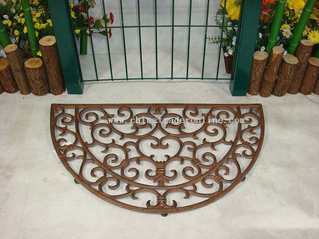 Cast Iron Doormat From China