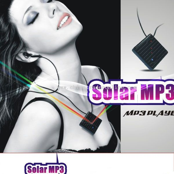 solar mp3 player