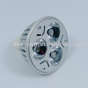 Plug-In 3 W DC 12 V MR16 High Brightness Spot light