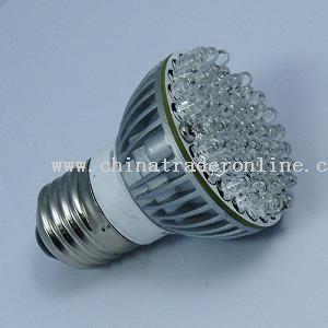 E27 –58 LED-AC220V LED Strobo Flash Light