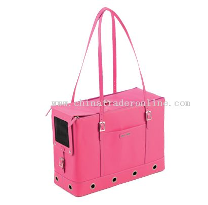 leather pet carrier