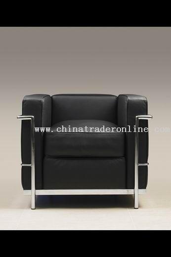 Le Corbusier designer modern classic furniture LC2 sofa