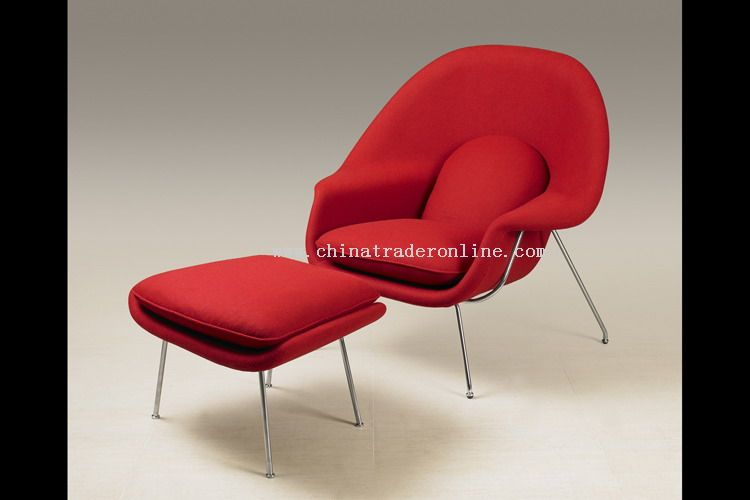 Eero Saarinen designer modern classic furniture Womb Chair