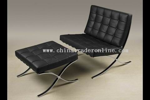 Mies Van der Rohe designer modern classic furniture barcelona chair
