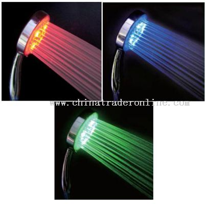 colour changing shower head from China