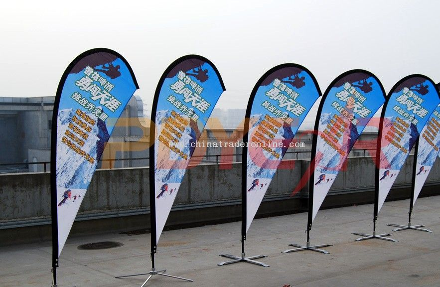 flying banner,beach flag,teardrop flag
