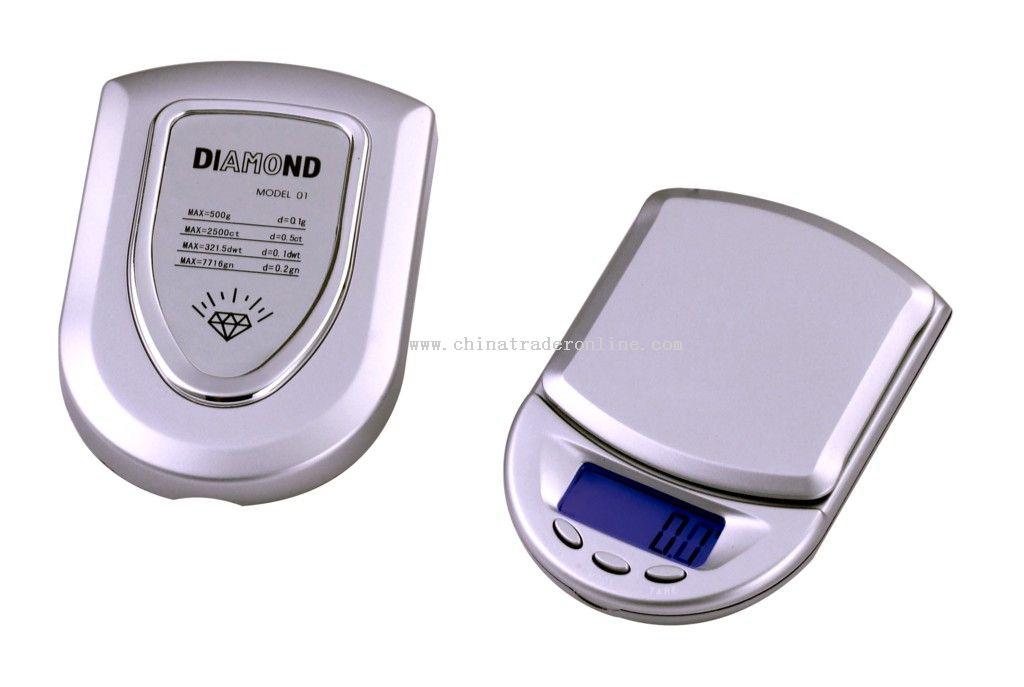 Digital LCD Scale