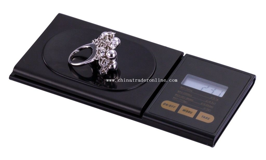 high precision strain-guage sensor jewelry Scales from China