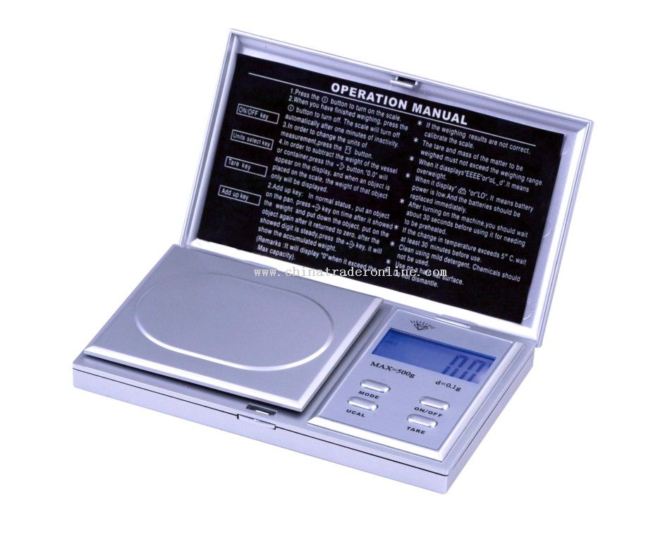 energy saving pocket scales