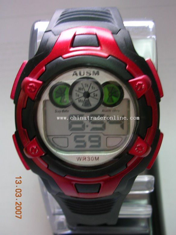 30m water-proof electronic watch