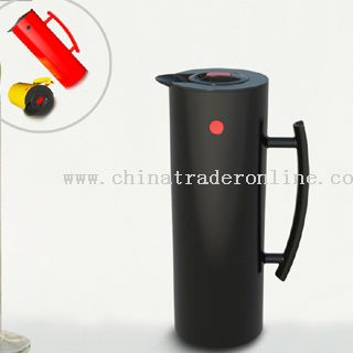 Plastic vacuum flask