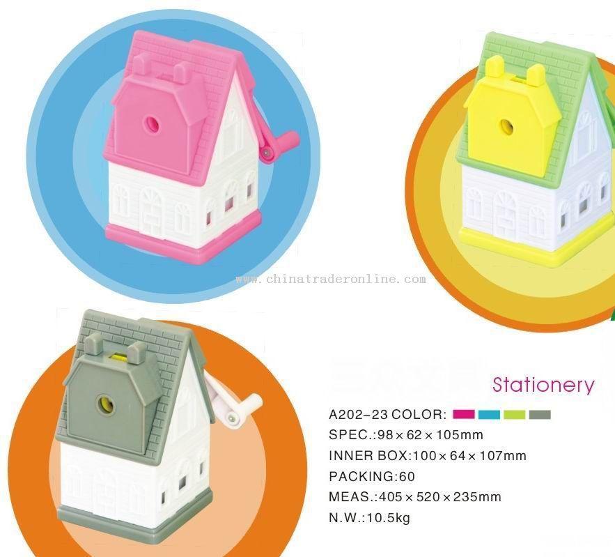 house pencil sharpener
