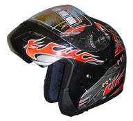 dot combination fiber glass helmet