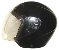 open face dot helmet